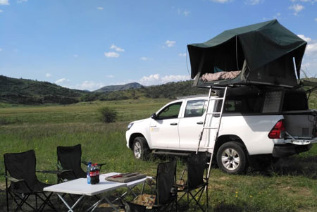 4x4 car hire and camping with Gecko Car Rental